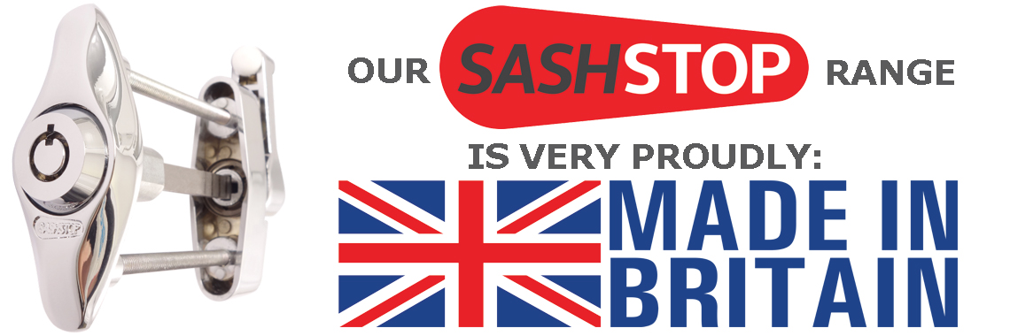 SASHSTOP is Made in Britain
